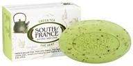 South of France - French Milled Vegetable Bar Soap Green Tea - 6 oz.