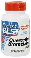 Doctor's Best - Quercetin Bromelain Vegan Circulatory Support - 60 Vegetarian Capsules