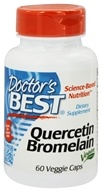 Doctor's Best - Quercetin Bromelain Vegan Circulatory Support - 60 Vegetarian Capsules - $8.49
