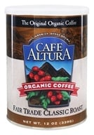 Cafe Altura - Organic Coffee Fair Trade Classic Roast - 12 oz., from category: Health Foods