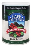 Cafe Altura - Organic Coffee Dark Roast - 12 oz. (032843334639)