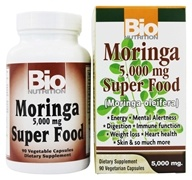 Image of Bio Nutrition - Moringa Superfood 5000 mg. - 90 Vegetarian Capsules