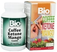 Bio Nutrition - Coffee Ketone Mango Weight Loss Combo - 60 Capsules - $11.69