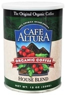 Cafe Altura - Organic Coffee House Blend - 12 oz., from category: Health Foods