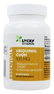 LuckyVitamin - Ubiquinol CoQH 100 mg. - 60 Softgels