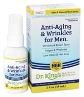 King Bio - Anti-Aging & Anti-Wrinkle Spray For Men - 2 oz. by King Bio