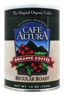 Cafe Altura - Organic Coffee Regular Roast - 12 oz. (032843334622)