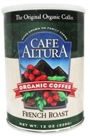 Cafe Altura - Organic Coffee French Roast - 12 oz. (032843334837)