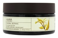 AHAVA - Mineral Botanic Rich Body Butter Honeysuckle & Lavender - 8 oz.