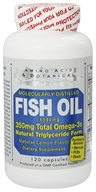 Amino Acid & Botanical - Omega-3 Fish Oil Lemon - 120 Capsules