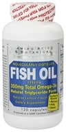 Amino Acid & Botanical - Omega-3 Fish Oil Lemon - 120 Capsules (671637663120)