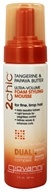 Giovanni - 2Chic Tangerine & Papaya Butter Ultra-Volume Foam Styling Mousse - 7 oz.