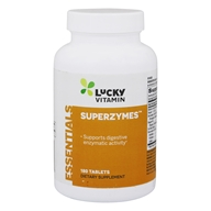 LuckyVitamin - Superzymes - 180 정제