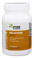 LuckyVitamin - Melatonin 3 mg. With Vitamin B-6 10 mg. - 120 Tablets