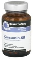 Quality Of Life Labs - Curcumin-SR Healthy Inflammation Support - 30 Vegetarian Capsules (812259003288)