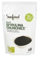 Sunfood Superfoods - Pure Spirulina Crunchies - 4 oz.