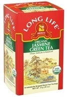Long Life Teas - Green Tea Jasmine - 18 Tea Bags