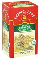 Long Life Teas - Green Tea Jasmine - 18 Tea Bags - $3.79
