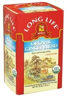Long Life Teas - Organic Ginger Blend - 18 Tea Bags (713757555708)