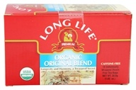 Long Life Teas - Organic Original Herbal Blend - 18 Tea Bags (713757555104)