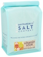 San Francisco Salt Company - Bath & Spa Salt Vitamin Soak - 32 oz.