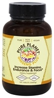 Pure Planet - Ginseng Plus Endurance Support - 100 Tablet(s) - $8.49