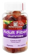Nutrition Now - Fiber Gummies - 60 Gummies - $8.19