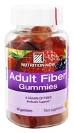 Nutrition Now - Fiber Gummies - 60 Gummies by Nutrition Now