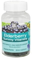 Nutrition Now - Elderberry Gummy Vitamins - 60 Gummies, from category: Nutritional Supplements