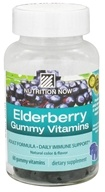 Nutrition Now - Elderberry Gummy Vitamins - 60 Gummies by Nutrition Now