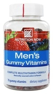 Nutrition Now - Men's Gummy Vitamins - 70 Gummies by Nutrition Now