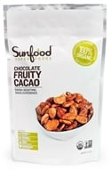 Sunfood Superfoods - Chocolate Fruit Cacao Beans - 8 oz., from category: Health Foods