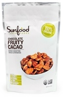 Sunfood Superfoods - Chocolate Fruit Cacao Beans - 8 oz. by Sunfood Superfoods