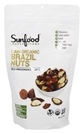 Sunfood Superfoods - Raw Organic Brazil Nuts 454 g. - 1 lb.