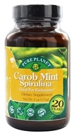 Pure Planet - Carob Mint Spirulina Endurance Support - 4 oz.