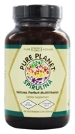 Image of Pure Planet - Premium Spirulina 500 mg. - 100 Vegetarian Capsules