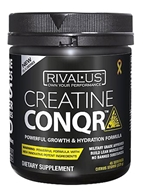 Rivalus - Creatine Conqr Powerful Growth & Hydration Formula Citrus Storm 45 Servings - 225 Grams by Rivalus