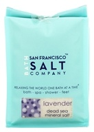 Image of San Francisco Salt Company - Dead Sea Mineral Bath Salt Lavender - 28 oz.