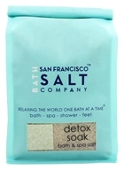 San Francisco Salt Company - Bath & Spa Salt Detox Soak - 32 oz.