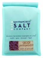 San Francisco Salt Company - Bath & Spa Salt Acai Antioxidant - 32 oz. (817678010305)