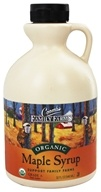 Coombs Family Farms - Organic Maple Syrup Grade A Dark Amber - 32 oz.
