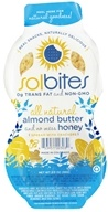SolBites - All Natural Spread with Crackers Almond Butter and No Mess Honey - 2 oz. by SolBites