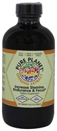 Pure Planet - White American Ginseng Extract - 8 oz.