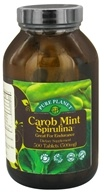 Pure Planet - Carob Mint Spirulina Endurance Support 500 mg. - 500 Tablet(s)