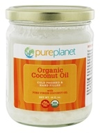 Pure Planet - Tropic Oil Raw Organic Coconut Oil - 16 oz., from category: Health Foods