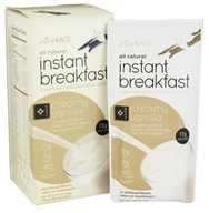 Jovan's - All Natural Instant Breakfast Creamy Vanilla - 5 Pouches by Jovan's