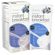Jovan's - All Natural Instant Breakfast Acai Blueberry - 5 Pouches by Jovan's