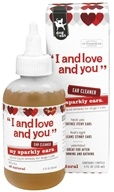 I And Love And You - My Sparkly Ears Dogs & Cats Ear Cleaner - 4 oz. (818336010668)