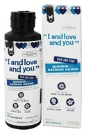 I And Love And You - Salmon Sauce Pure Fish Oil Supplement For Cats - 8.5 oz.