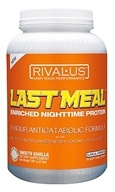 Rivalus - Promasil Last Meal Enriched Nighttime Protein Smooth Vanilla - 32 oz.